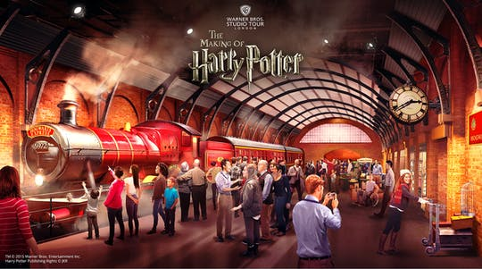 Warner Bros. Studio Tour London – The Making of Harry Potter with luxury coach transfer