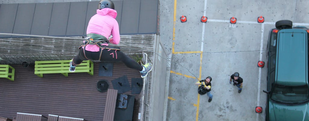 Ultimate abseiling experience
