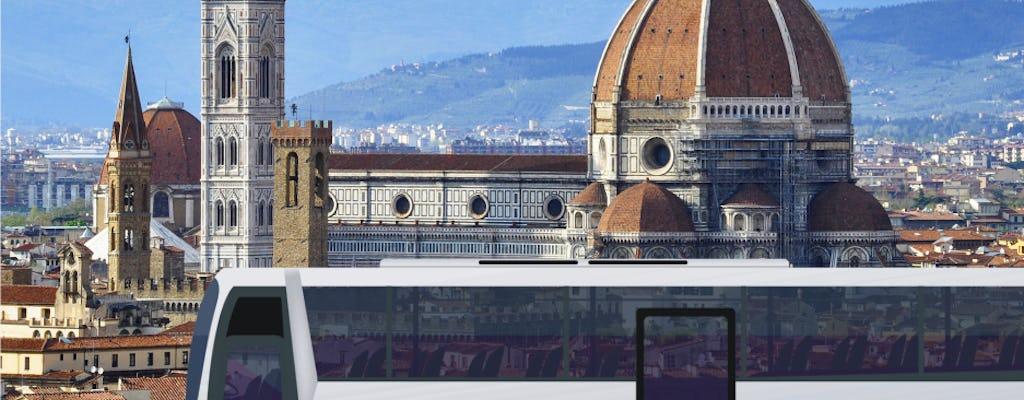 Trasporto economico A-R in pullman dal porto di La Spezia a Firenze e Pisa