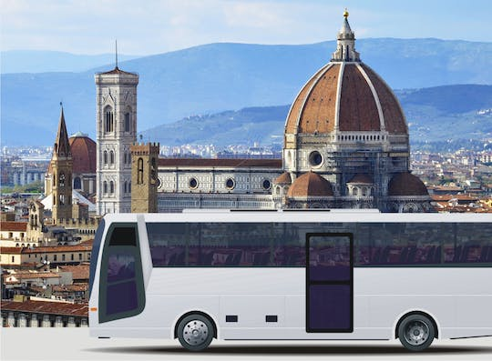 Low-cost roundtrip transfer from La Spezia to Florence and Pisa
