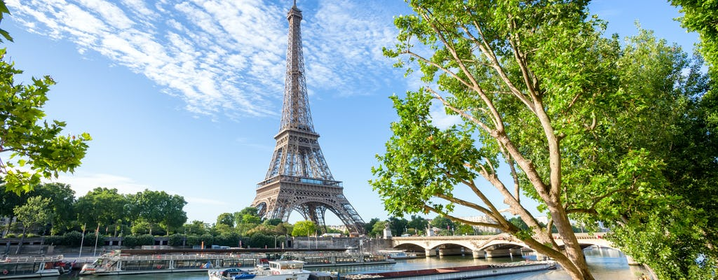 Eiffel Tower skip-the-line ticket and Seine cruise