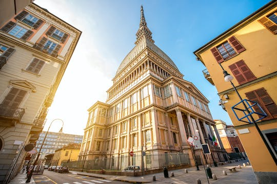 National Museum of Cinema and Mole Antonelliana with Turin 24 or 48-hour hop-on hop-off bus tickets