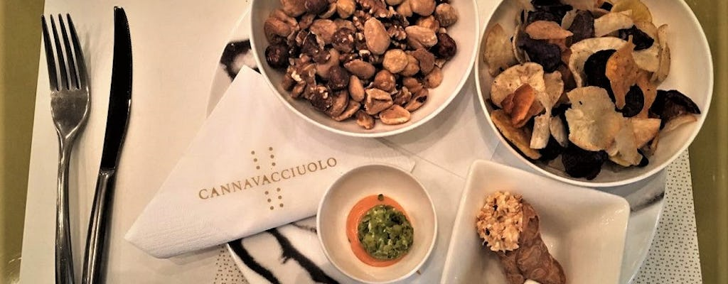 Gourmet and Glamour experience at Cannavacciuolo Café and Bistrot