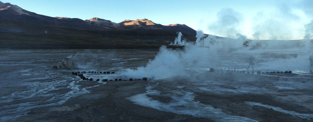 Full day excursion to Tatio Geyser and Machuca