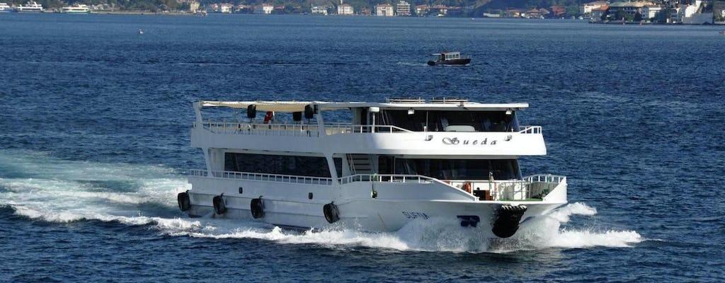 Crucero por el Bósforo, el Palacio de Dolmabahce y la gira por los dos continentes