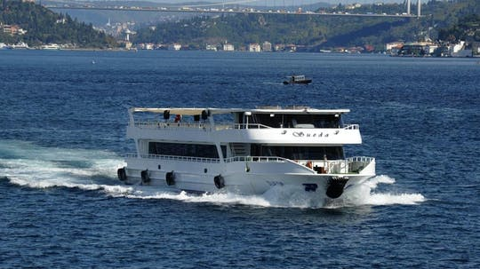 Bosphorus cruise, Dolmabahce Palace and Two Continents tour