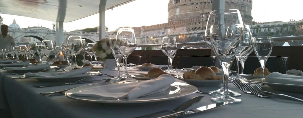 Tiber River Cruise with Gourmet Dinner