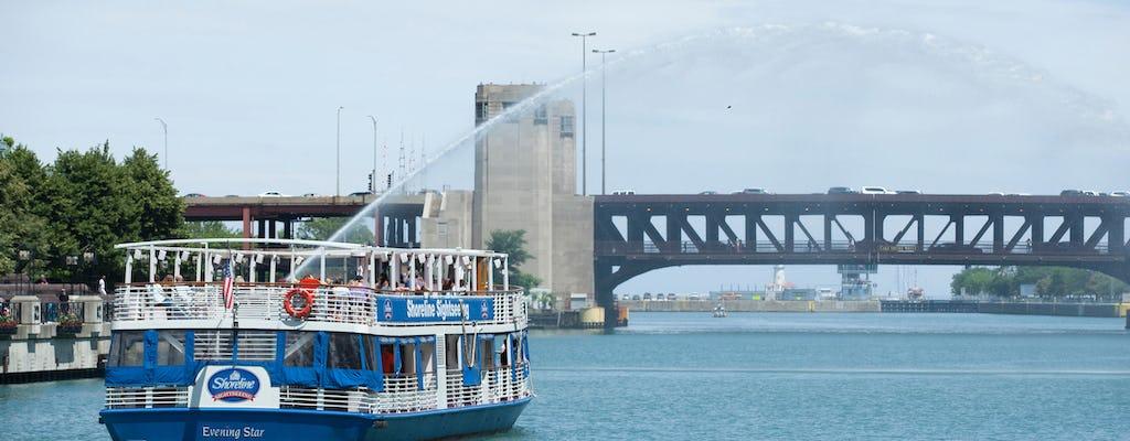 Crucero arquitectónico en español por el río Chicago desde Michigan Ave