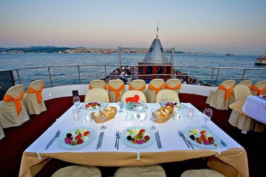 Dinner cruise with Turkish Night Show