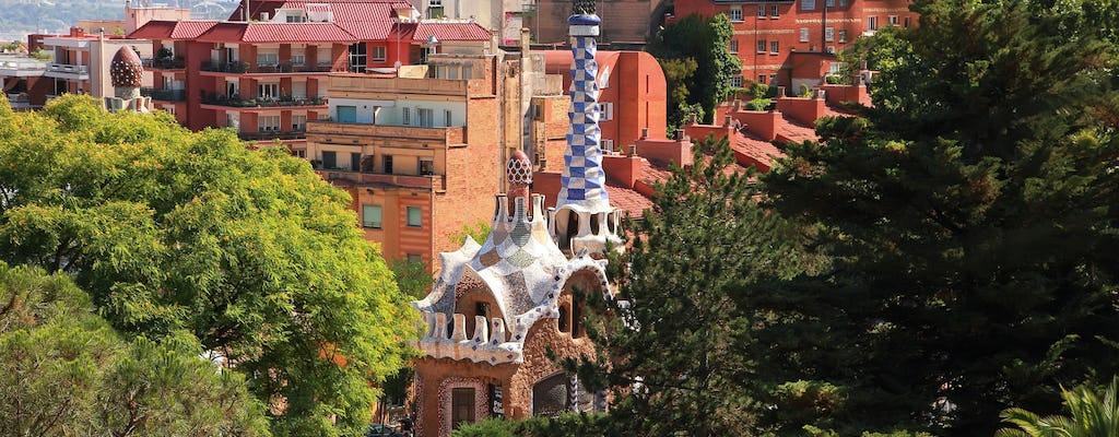Park Guell i Sagrada Familia z przewodnikiem i ominięciem kolejki