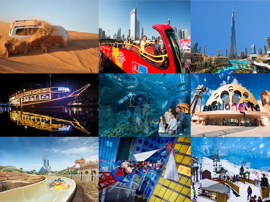 Dubai Deluxe Supersaver City Pass