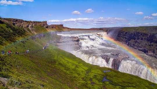 Golden Circle Classic and Fontana Geothermal Baths tour from Reykjavík