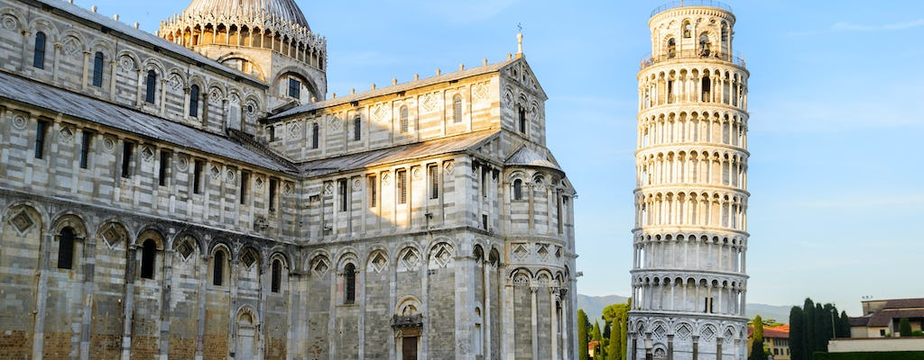 Pisa guided tour with wine tasting and optional Leaning Tower tickets