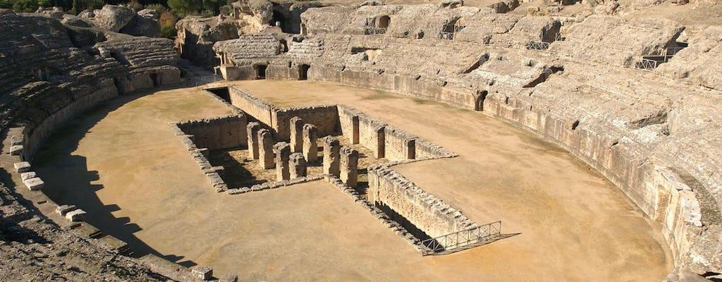 Rovine romane del tour di Itálica da Siviglia