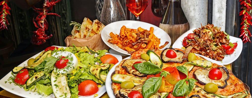 Visita gastronómica por Roma con pizza, degustación en una trattoria y helado