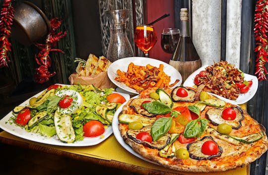 Rome food tour with pizza-making, trattoria tastings and gelato