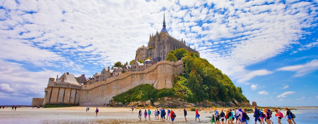 Mont Saint-Michel full-day trip from Paris
