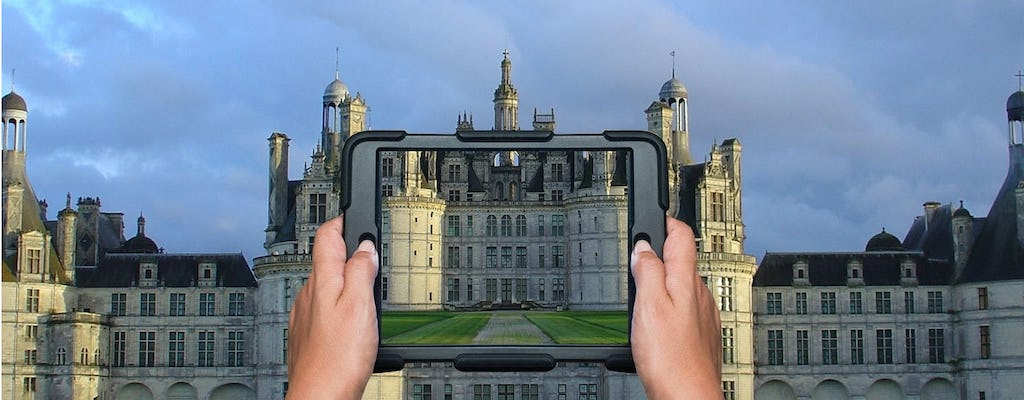 Virtuality tour of Château of Chambord