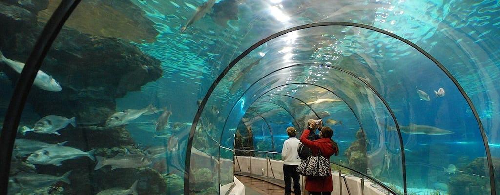 Bilety wstępu do Oceanarium w Barcelonie