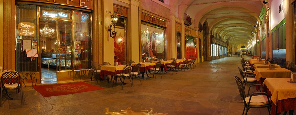 Private tour of Turin and its historic cafés