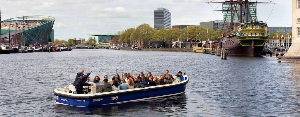 Amsterdam Open Boat Grachtenfahrt