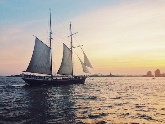 Sunset sail aboard Clipper City