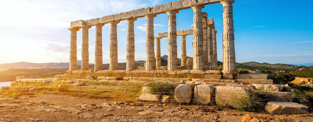 Recorrido de Medio Día por la Tarde desde Atenas por Cabo Sounion y el Templo de Poseidón