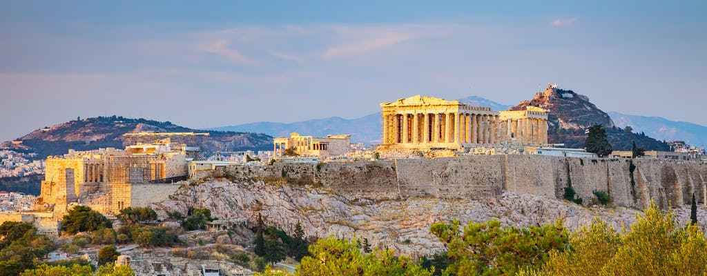 Tour de um dia completo Atenas com Acrópole e Cabo Sounion