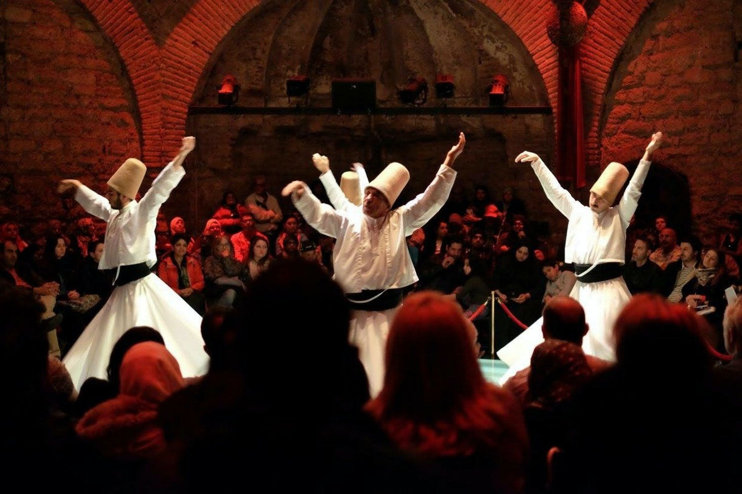 Whirling dervishes Sema ceremony show and exhibition