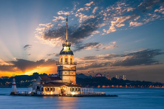 Turkish night cruise on the Bosphorus with dinner