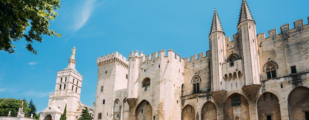 Full day tour of Avignon, Châteauneuf-du-Pape and Les Baux de Provence