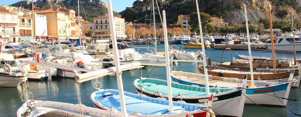 Guided tour of Aix-en-Provence, Marseille and Cassis