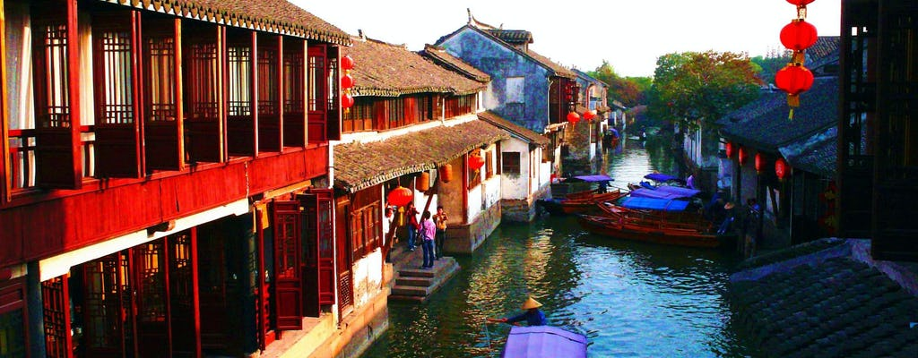 Suzhou und Zhouzhuang Water Village Tagestour