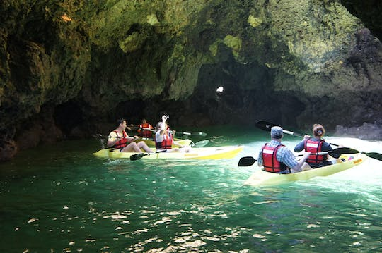 Kayak cave explorer cruise