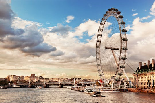Tour de dia em Londres com entradas opcionais para o London Eye