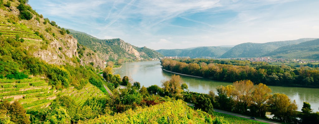 Wachau Valley day trip with river cruise on the Danube