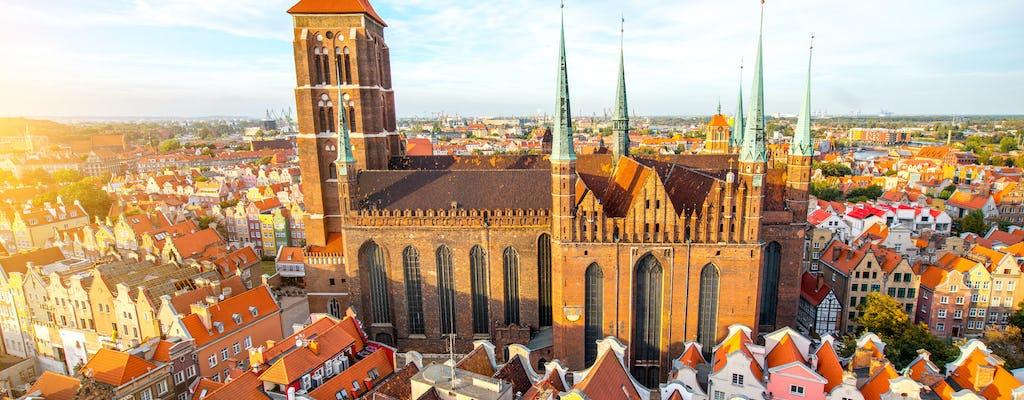 Prywatna 4-godzinna, rodzinna, historyczna wycieczka piesza po Gdańsku