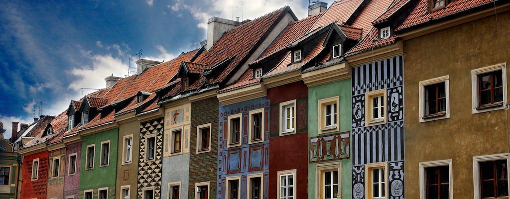 Il centro storico di Poznan evidenzia il tour a piedi