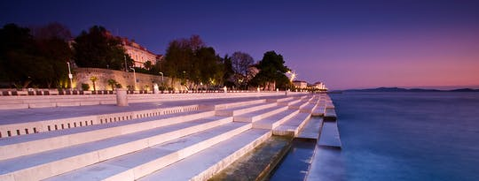 Recorrido a pie por Zadar al atardecer