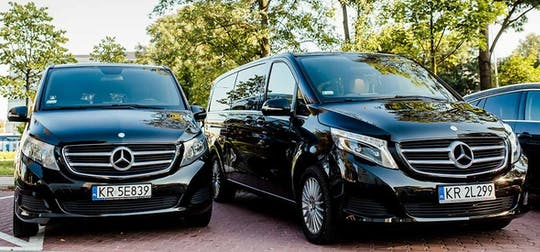 Private transfer from or to Krakow airport