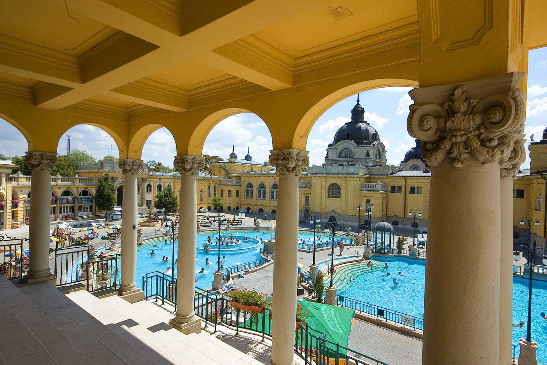 Szechenyi Budapest Spa gift package with skip-the-line entry