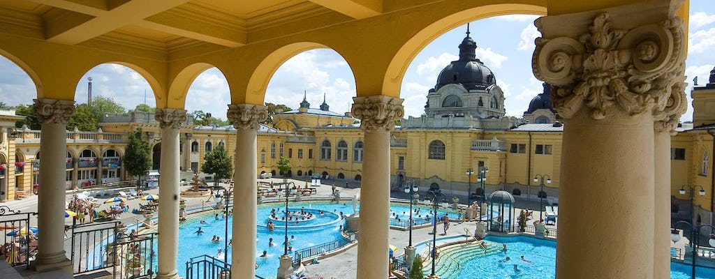 Széchenyi Budapest Spa gift package with skip-the-line entry
