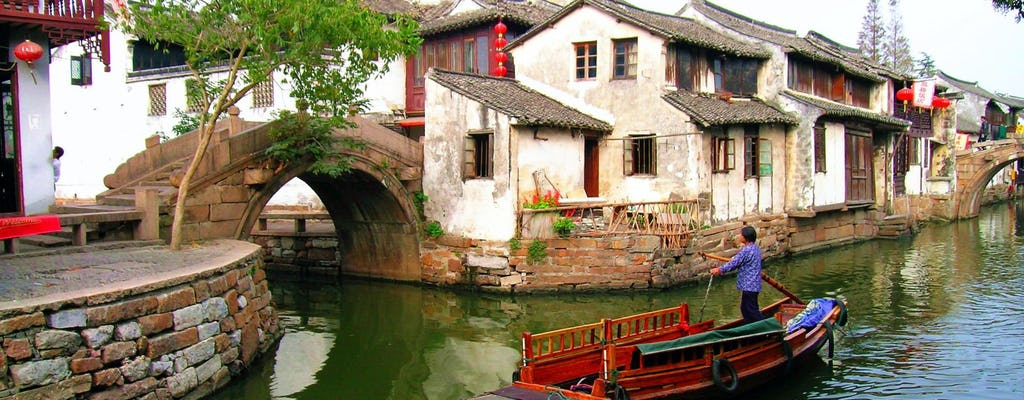 Zhouzhuang Water Village half day tour with boat ride