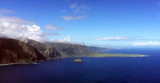 Молокаи два острова вертолет путешествие из Kahului