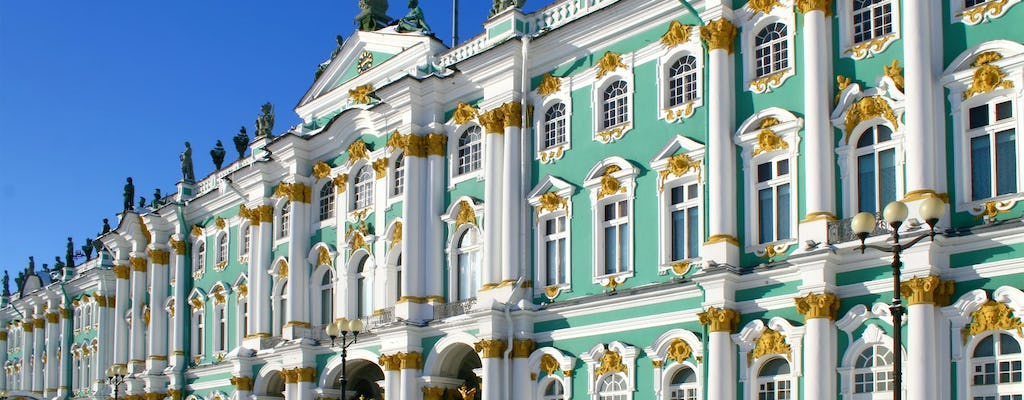 Catherine Palace and Hermitage Museum tour in one day