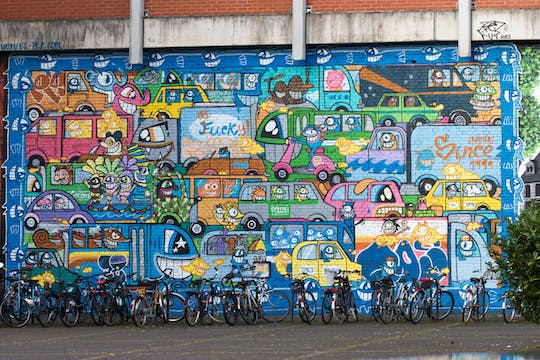 "Tour guidato in bicicletta ""Streetart"" a Colonia"