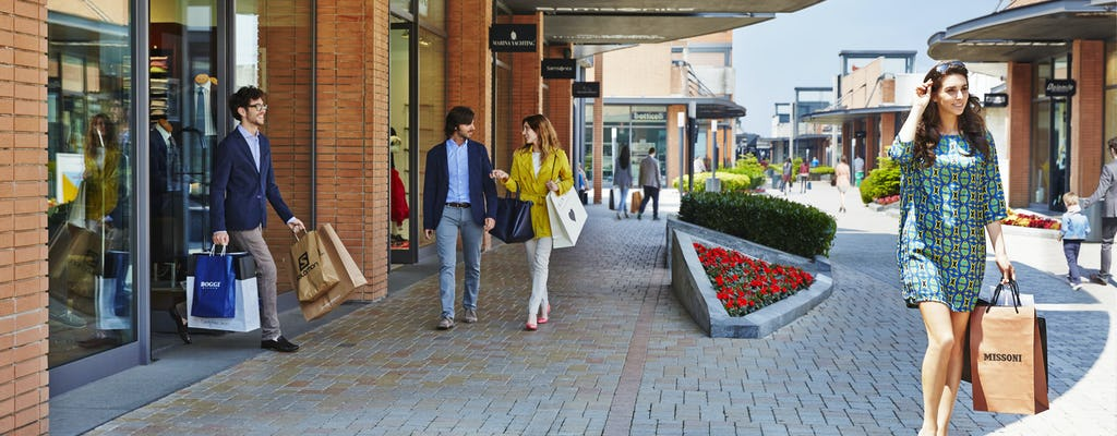 Vicolungo The Style Outlets: shopping tour from Milan
