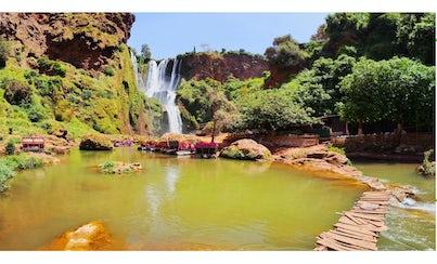 Salir de la ciudad,Actividades,Excursiones de un día,Actividades acuáticas,Cascadas de Ouzoud,Visita las cascadas