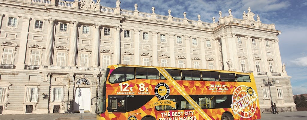Madrid panoramic bus tour