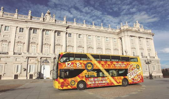 Мадрид обзорная экскурсия на автобусе